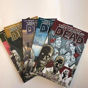 The Walking Dead LOT 1-5 Graphic Novels Robert Kirkman TPB Image Comics Show