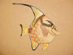 Details About 6 Tropical Fish Wall Decor Bath Beach Nursery Aquarium Nautical Ocean Aquatic