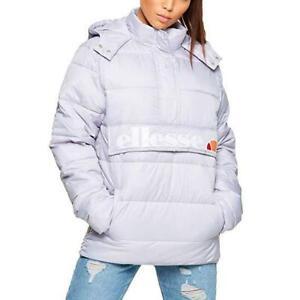 Ellesse-Womens-Jacket-Padded-Hooded-Andalo-Lilac-Purple-Puffa-Overhead-10uk-New