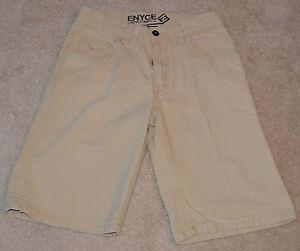 Mint! ENYCE (By Sean Combs) Men's Dark Khaki Shorts) Size 32 Nice ...