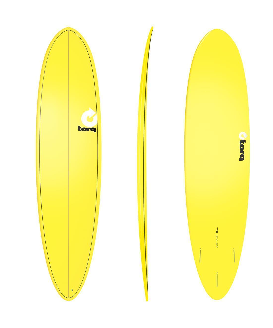 Tabla de Surf Torq Epoxy 7.6 Funboard Amarillo Surefero Board Nuevo