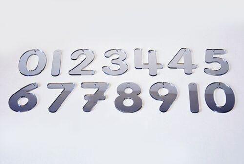 Sen sensorielle Acrylique miroir des lettres chiffres double face