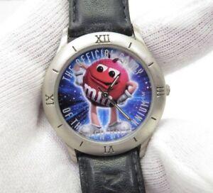 M&M, Rosso, Caramelle UFFICIALE DEL NUOVO MILLENNIO molto Cool, uomo/KID'S Watch, 918