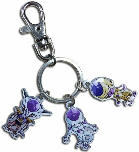 Chibi Frieza Metal Key Chain *NEW* Dragon Ball Super Resurrection F