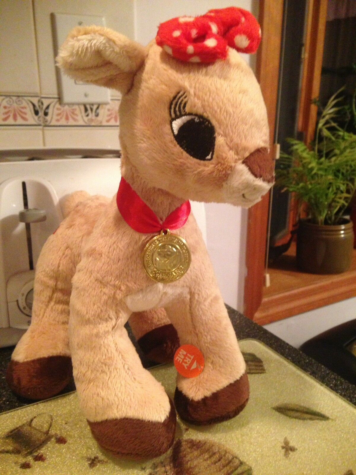 Rudolph The Red Nosed Reindeer Musical Clarice Clarice Clarice 50 Years Still Glowing Medallion 00c018