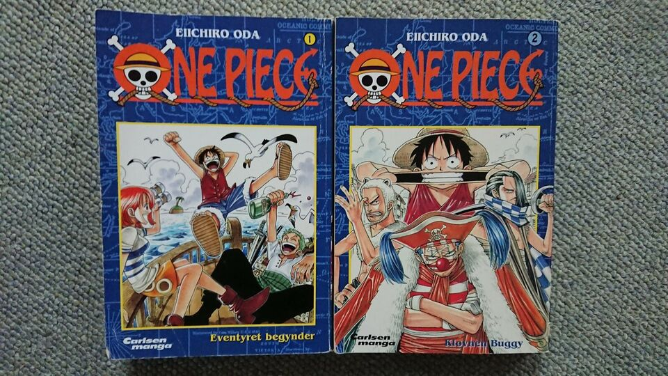 one piece tegneserie