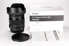 Sigma 17-70mm f/2.8-4 DC OS AF HSM Contemporary Lens For Canon EF Mount
