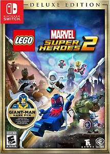 LEGO Marvel Super Heroes 2: Deluxe Edition (Nintendo Switch, 2017)