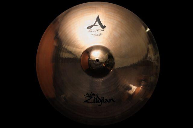"Zildjian A Custom Series 22"" Medium Ride Cymbal"
