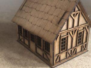Casa-Pequena-Estilo-Tudor-Fantasia-28mm-T4A