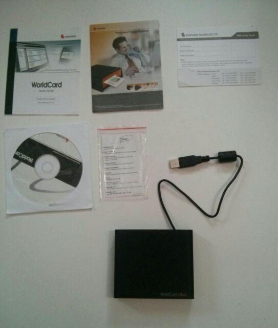 WorldCard Color-Color Business Card Scanner