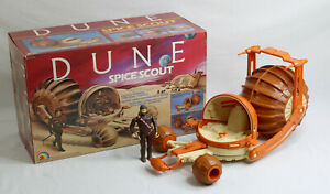Dune 1984 Ljn Spice Scout Vehicle Mib 100% complet presque neuf