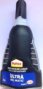 3g-Pattex-Sekundenkleber-Ultra-Gel-Matic-PSG5C-extra-Stark-und-Flexibel-Kleber