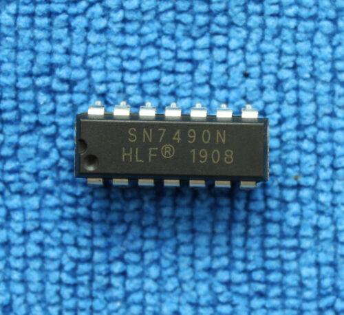 10pcs SN7490N Integrated Circuit IC