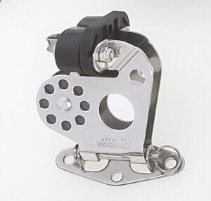 "Viadana Swivel Bullseye w//Aluminum Ball Bearing Cam Cleat up to 14mm 9//16/"""