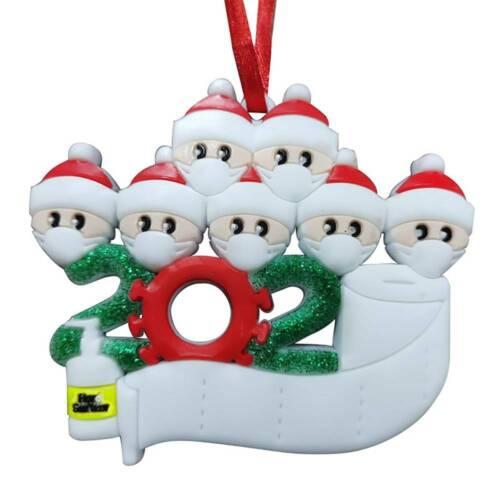 Christmas Tree Ornament Quarantine Family Xmas Party Lockdown Decors Preorder