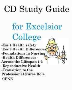 Excelsior College Nursing >> Details About Test Prep Bundle Excelsior College Nursing Exams 1 8 Cpne Cd Study Guides