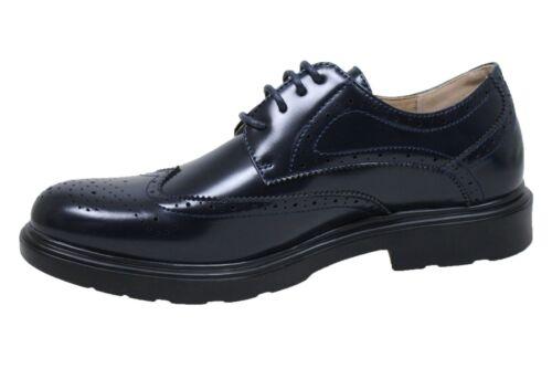 Uomo Casual Vernice Shoes Scuro Francesine Class Eleganti Blu Scarpe Calzature T7aRHq45n