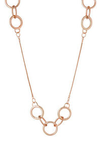 NEW-Piper-PIPJ0556-Circle-Loops-Station-Necklace-Rose