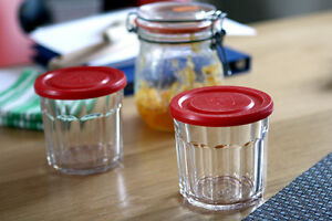 Set-of-6-Jam-Jar-Drinking-Glass-Tumbler-w-Lid-Confiture-Preserve-Can-Storage-Pot