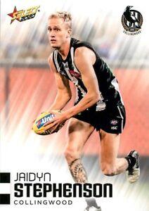 New-2020-COLLINGWOOD-MAGPIES-AFL-Card-JAIDYN-STEPHENSON-Footy-Stars