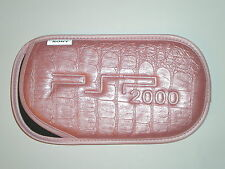 Housse PSP 2000 PSP 3000 SoftBag Rose Pink Nylon Protection Transport Neuve