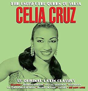 Undisputed-Queen-Of-Salsa-2-DISC-SET-Celia-Cruz-2014-CD-NEUF