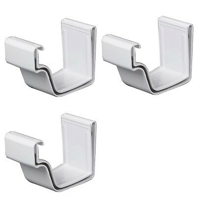 3 Amerimax Home Products White Vinyl K Style Joiner Union