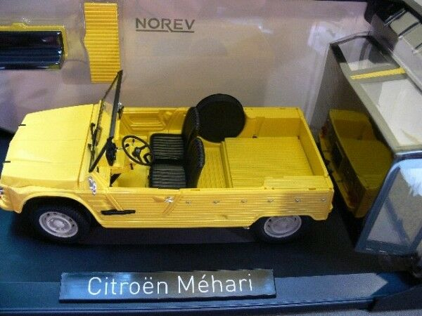 1 18 Norev Citroen Mehari 1983 Yellow 181525