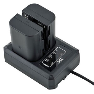 Usb Dual Double Battery Charger Station