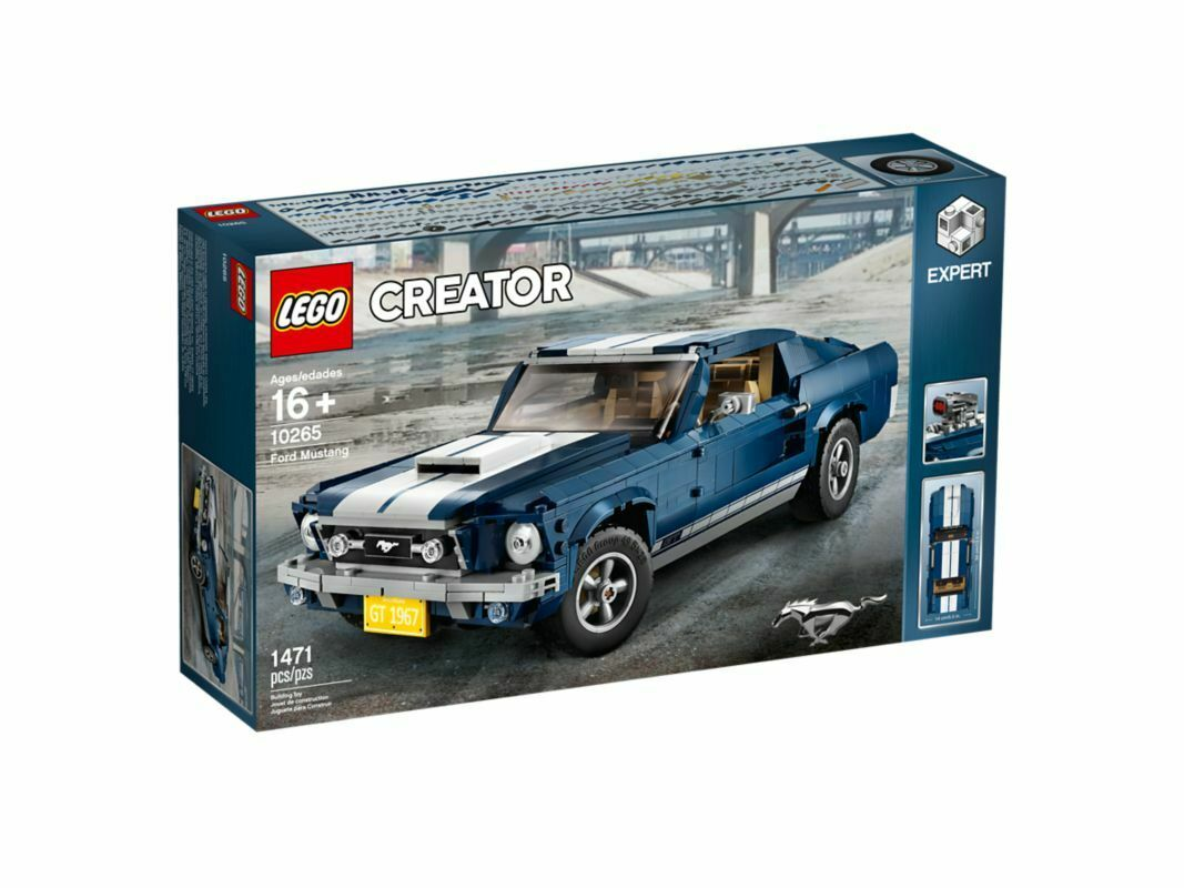 LEGO Ford Mustang GT 1960s Car 10265 Creator Expert NEW OFFICIAL SEALED