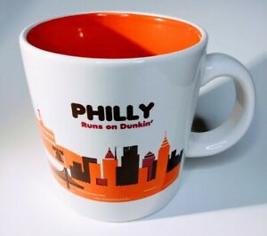 Dunkin Donuts Philly Runs On Dunkin Philadelphia Coffee Mug Cup 2012