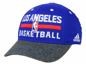 5cf196c89a4 Los Angeles Clippers Men s Adidas NBA Basketball Practice Flex Fit ...