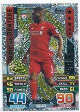 2015 / 2016 EPL Match Attax Man of the Match (384) Christian BENTEKE Liverpool
