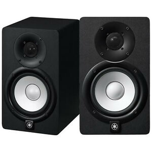 Yamaha hs5i powered studio monitor pair brand new ebay for Yamaha powered speakers review