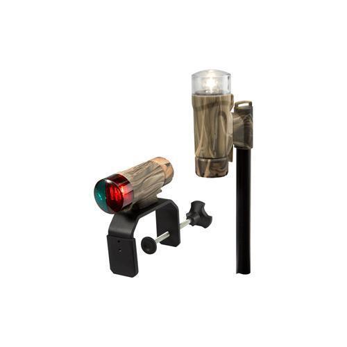Attwood Clamp-On Portable Led Light Kit - Realtree&Reg; Max-4 Camo