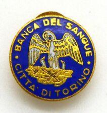 Distintivo Banca Del Sangue Città Di Torino cm 1,7