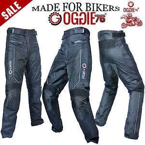 MENS-MOTORBIKE-MOTORCYCLE-TEXTILE-WATERPROOF-CORDURA-JEANS-TROUSER-STRETCH-PANEL