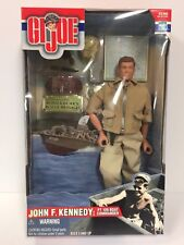 Kennedy PT 109 Boat Commander NIB Collector Piece Hasbro 2000 GI JOE John F