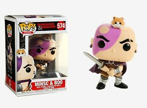 Dungeons and Dragons Minsc /& Boo Funko