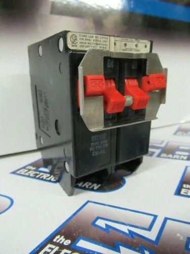 20 Amp Bryant BQ220-220 120//240V 2 2 Pole TANDEM Circuit Breaker  -WARRANTY