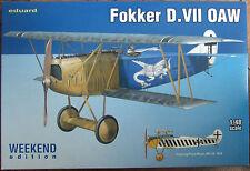 EDUARD 1/48 FOKKER D.VII OAW WEEKEND 84155 *NEW*