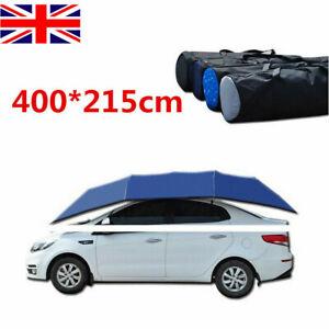Semi-automatic-Car-Tent-Umbrella-Foldable-Anti-UV-Movable-Carport-SunShade-Cover