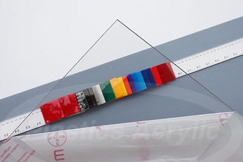"""Clear Polycarbonate Lexan Sheet .030/"""" x 11/"""" x 11/"""""""