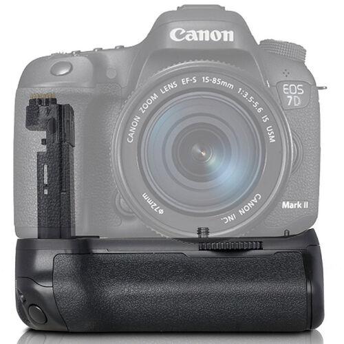 Foto Vertical Battery Grip Para Cámara Canon Eos 7DII 7D Mark II 2//BG-E16