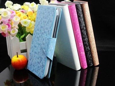 For ALCATEL One Touch Luxury Diamond Veins PU Leather Flip Wallet Case Cover