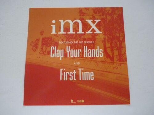 IMX 2001 LP Record Photo Flat 12x12 Poster