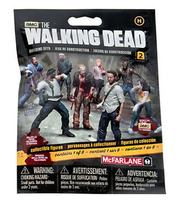 1 x Human aveugle Bag s2 FIGURINE the walking dead Building set MBS 14609 McFarlane 							 							</span>