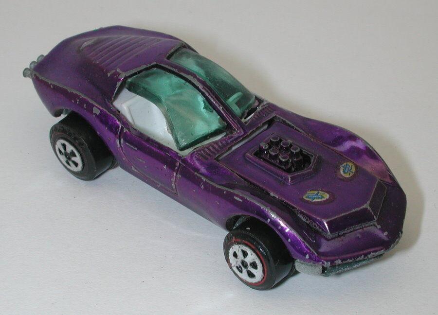 Topper Johnny Lightning Purple Mako Shark oc15838