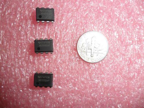 LOT OF 5 NE5532 NE5532AP OP AMP 10 MHZ 8 PIN DIP DUAL LOW NOISE